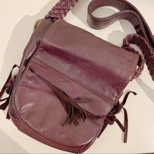 Nordstrom Genuine Leather Crossbody Purse Bag